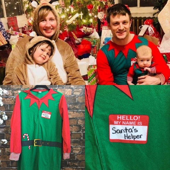 040b04a1d8 North Pole Trading Company Other - Family Christmas Onsie Pajamas Adult Elf  PJs